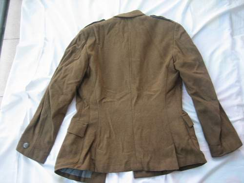 "Wz.36 Polish Army Captain's tailor made Field Tunic, claimed to have belonged to ""Chrabąszcz"" Komendant Kpt. Kazimierz Blajer ps. ""Kanis"""