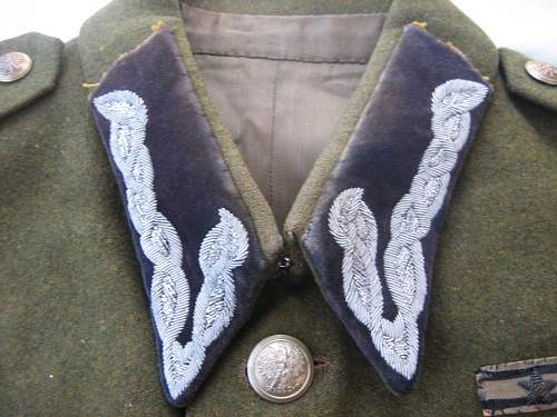 "Another Wz.36 Polish Army Captain's tailor made Field ? Tunic, claimed to have belonged to ""Chrabąszcz"" Komendant Kpt. Kazimierz Blajer ps. ""Kanis"""