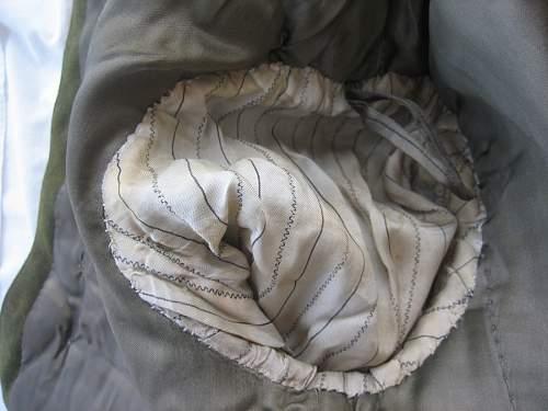 "Another Wz.36 Polish Army Captain's tailor made Field ? Tunic, claimed to have belonged to ""Chrabąszcz"" Komendant Kpt. Kazimierz Blajer ps. ""Kanis"""
