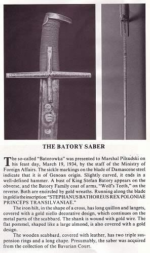 Click image for larger version.  Name:Pilsudski's Sabers - The Batory Saber a.jpg Views:233 Size:236.3 KB ID:72019
