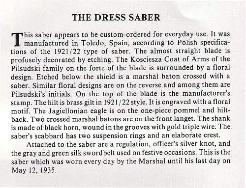 Click image for larger version.  Name:Pilsudski's Sabers - The Dress Saber text.jpg Views:93 Size:147.9 KB ID:72020