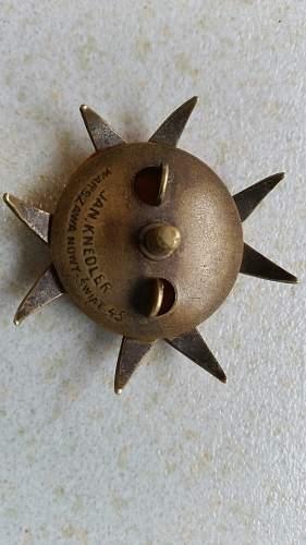 Polish Lancers Badge 1918