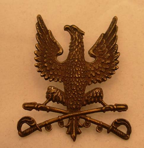 Eagle / Crossed Swords Insignia