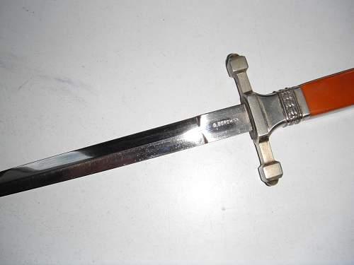 Polish dagger Air Force ???