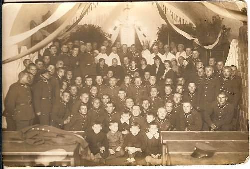 Click image for larger version.  Name:14 XI 1936 Otwarcie swietlicy Kompani Szkolnej Kad Zap S szpitala w dniu swieta sanitarnego Brze.jpg Views:117 Size:83.6 KB ID:78808