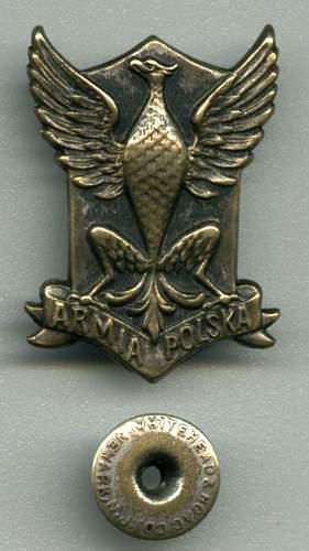 Click image for larger version.  Name:Armia Polska Eagle.JPG Views:127 Size:73.1 KB ID:80609