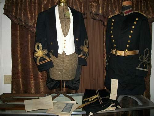 Haller tunic and czapka, helmet and fuzerka