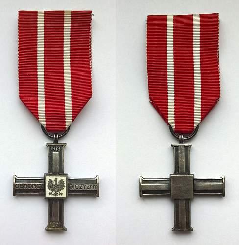 Click image for larger version.  Name:Krzyż za udział w Wojnie 1918-1921 (1).jpg Views:53 Size:222.5 KB ID:842609