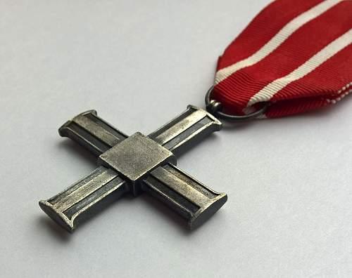 Click image for larger version.  Name:Krzyż za udział w Wojnie 1918-1921 (3).jpg Views:61 Size:131.1 KB ID:842611