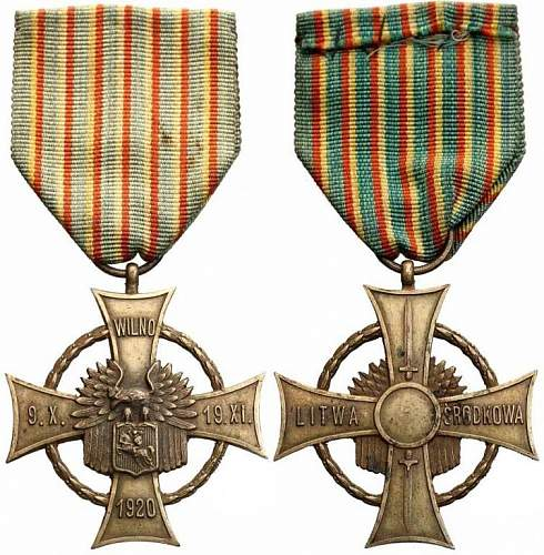Republic of Central Lithuania cross