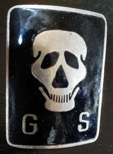 GS badge(Gora Stracenia). Defence of Lwow.1918