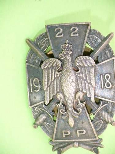 Click image for larger version.  Name:polen-silbernes-regimentsabzeichen1.jpg Views:20 Size:38.3 KB ID:857314