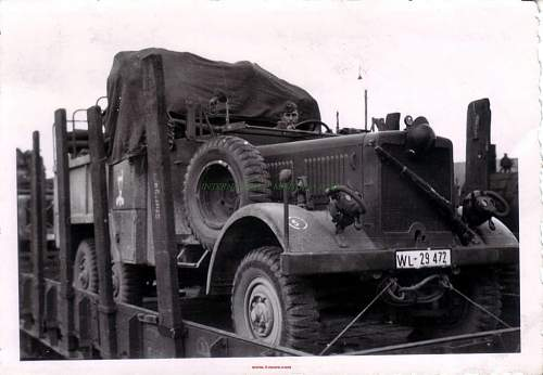 Click image for larger version.  Name:GERMAN WW2 PHOTO LW TRUCK POLISH HELMET RIFLE GAS MASK.jpg Views:312 Size:81.2 KB ID:869354