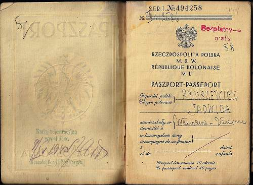 Polish hand writing or French?