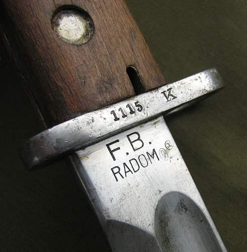 Bayonet and bayonet frog thread!