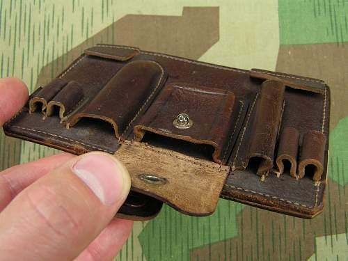 Prewar Polish Army Officer's Type B Document Case, 100% original Prewar, please ?