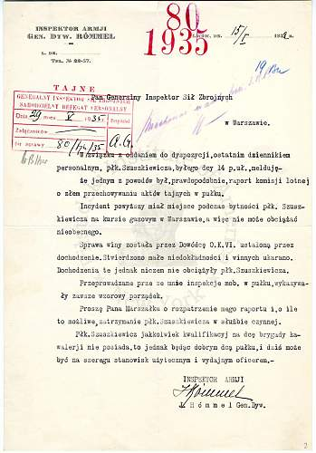 Click image for larger version.  Name:1932 Report on Plk Szuskiewicz by General Rommel.jpg Views:39 Size:177.3 KB ID:897032