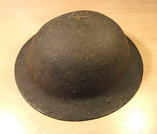 Is this a Polish WWII Brodie style helmet ?