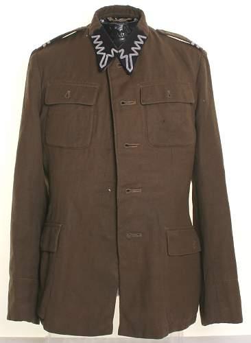 Wz.36 Kapral's Polish army tunic, 100% original Prewar, please ?