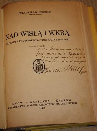 Wladyslaw Sikorski Book