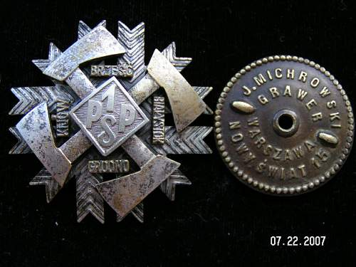 Click image for larger version.  Name:Odznaki Wojskowe II RP 005.jpg Views:437 Size:150.9 KB ID:92094