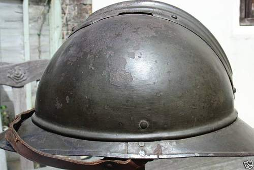 Click image for larger version.  Name:Polish Cavalry M1530 Adrian Steel Helmet very rare $1331 brun-1 (4).jpg Views:77 Size:47.8 KB ID:94046