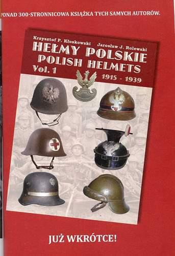 Booklet on the wz.31 helmet