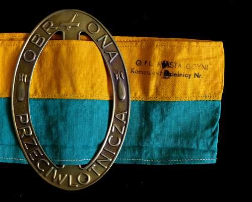 Pre WW2 Air Defence Arm badge