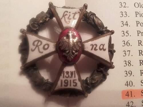 Pre-war Badge thread
