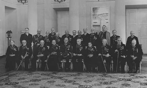 Click image for larger version.  Name:23rd Jan 1938 Warsaw OOP awarded to 1863 Veterans by Marshal Smigly Rydz.jpg Views:61 Size:171.7 KB ID:971481