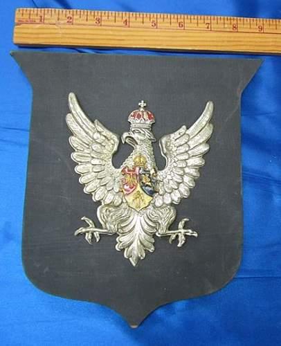 Polish Eagle Ashtray marked Zinn Fein