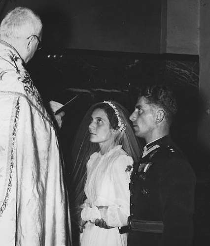 Click image for larger version.  Name:Warsaw 17th June 1939 Father Jacek Worzniecki marrying Por Jakubowicz and Ina Kepinska.jpg Views:65 Size:77.4 KB ID:992557