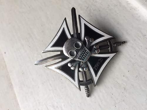 Polish 1920 Hussar badge - FAKE OR NOT?