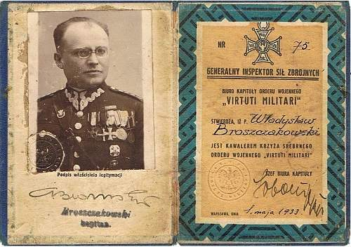 Click image for larger version.  Name:VM Legit Nr 75 Kpt Władysław Broszczakowski.jpg Views:65 Size:186.4 KB ID:999136