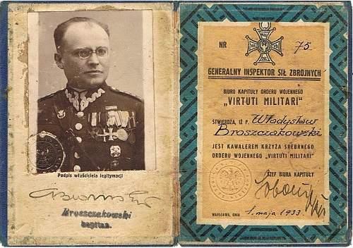 Click image for larger version.  Name:VM Legit Nr 75 Kpt Władysław Broszczakowski.jpg Views:46 Size:186.4 KB ID:999136
