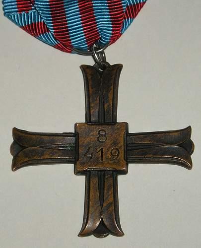 Monte Cassino cross