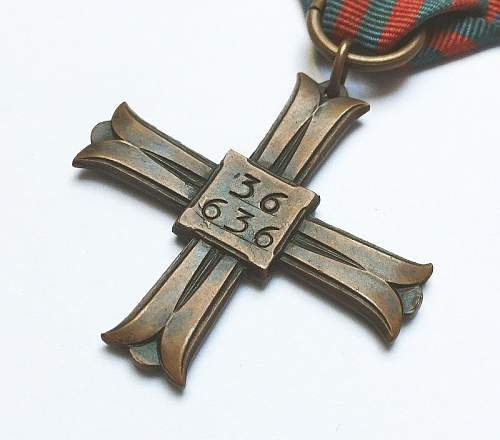 Monte Cassino cross