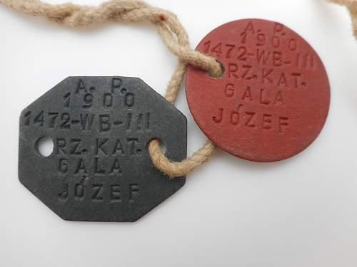 Polish Dog Tags