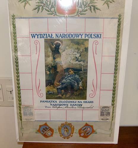 My Polish-American Collection