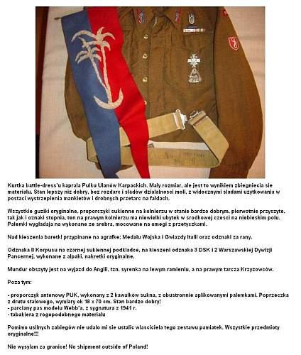 Click image for larger version.  Name:Kurtka kaprala PUK , pas i proporczyk text.jpg Views:34 Size:162.6 KB ID:1060588