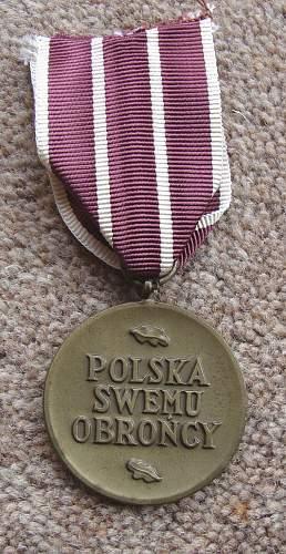 Polish War Medal good or bad