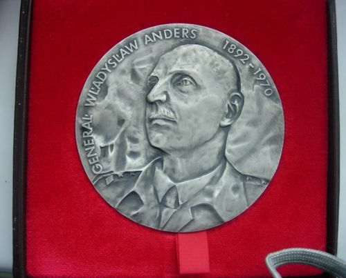 Medal Commemorating the Foundation of the Polish Army in the USSR by H.Jelonek 1991.