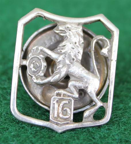 Click image for larger version.  Name:6th Lwow infantry brigade collar badge 1e small.jpg Views:225 Size:159.8 KB ID:117281