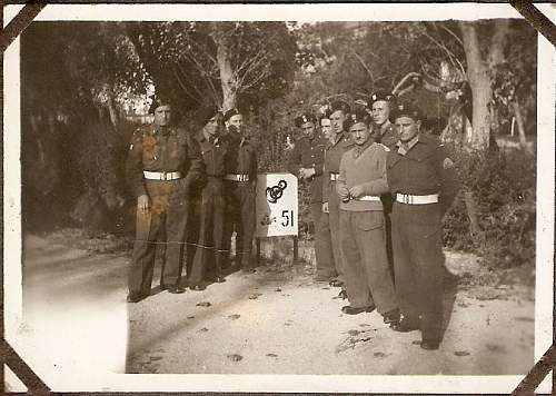 Click image for larger version.  Name:scan0016 LADC 3rd Tank Squadron 4th Regiment Michal leaning on sign.jpg Views:229 Size:218.7 KB ID:122490