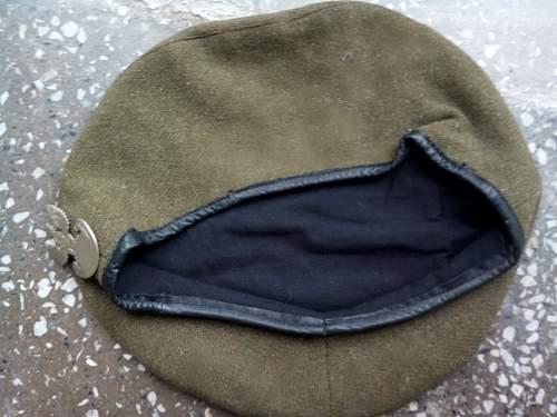 Help identification beret WW2