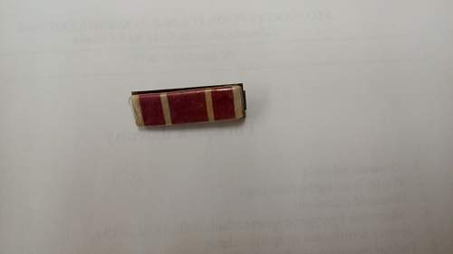 My friend asked me to post these pictures of his father's medals from WWII so that if anyone had some information to share I'd be most thankful.
