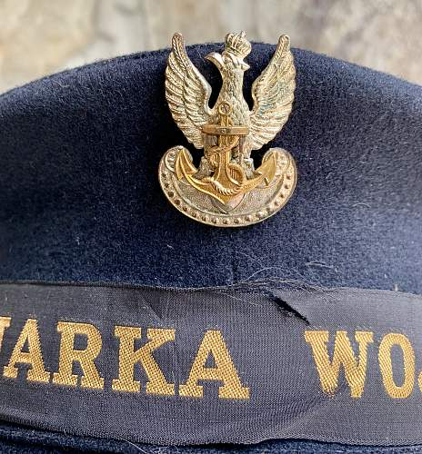 Polish Navy Cap