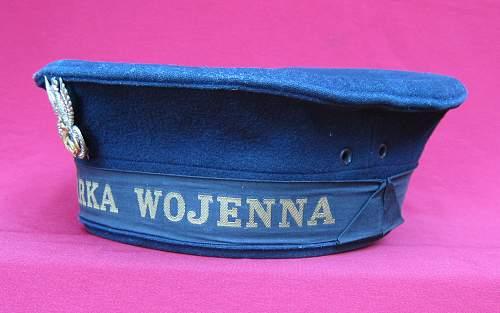 Polish Navy Cap