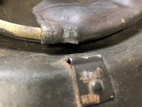 please help to identify this polish / british m1917   / BMB 1942 Helmet