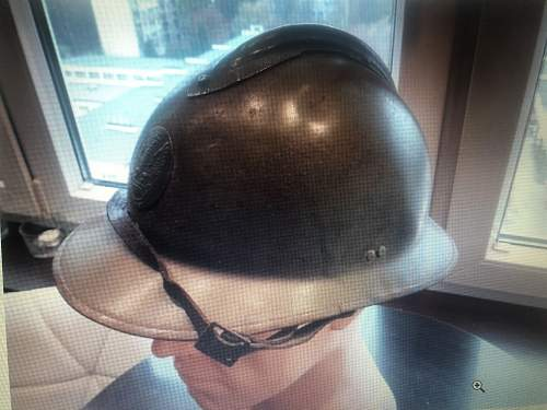 can you please assist to identify this french / polish helmet